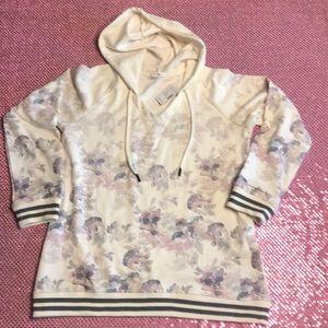 Floral Flower Hoodie Sweatshirt